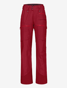 lofoten Gore-Tex insulated Pants W's - skiing pants - rhubarb