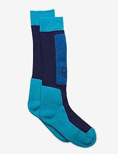 lofoten mid weight Merino Socks long - sockor - ocean swell