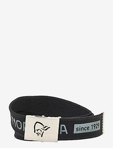/29 viking head web clip belt - sportsbelter - caviar