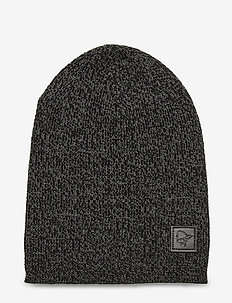 /29 thin marl knit Beanie - hats - castor grey