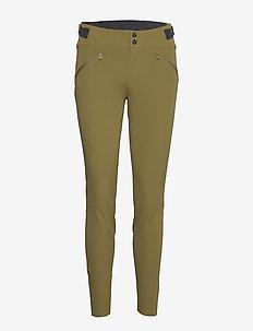 falketind flex1 slim Pants W's - softshell pants - olive drab