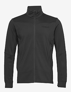 falketind warm1 stretch Jacket M's - fleece midlayer - caviar
