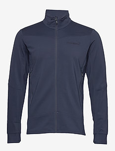falketind warm1 stretch Jacket M's - fleece midlayer - indigo night