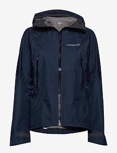 falketind Gore-Tex Jacket (W) - outdoor & rain jackets - indigo night