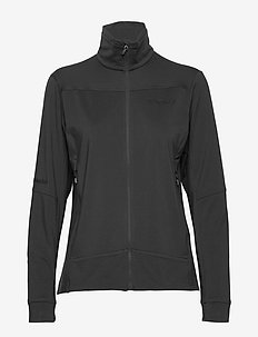 falketind warm1 stretch Jacket W's - fleece midlayer - caviar