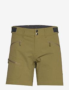 falketind flex1 Shorts W's - softshell pants - olive drab