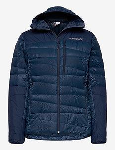 falketind down750 Hood W's - insulated jackets - indigo night