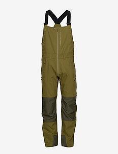 svalbard heavy duty Bib Ms - spodnie turystyczne - olive drab