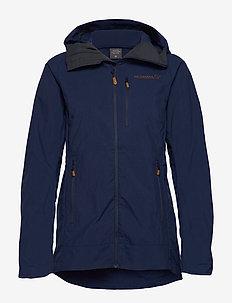 svalbard lightweight Jacket W's - skaljackor - indigo night