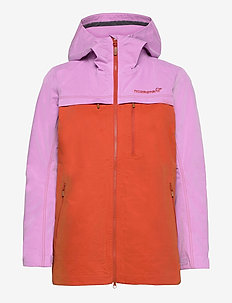 svalbard cotton Jacket (W) - outdoor- & regenjacken - violet tulle