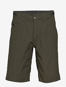 svalbard light cotton Shorts (M) - udendørsshorts - slate grey