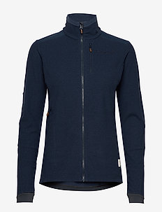 svalbard warm1 Jacket (W) - fleece midlayer - indigo night