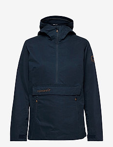 svalbard cotton Anorak (W) - outdoor & rain jackets - indigo night