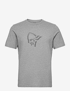 /29 cotton viking T-Shirt M's - topy sportowe - grey melange