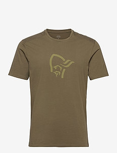 /29 cotton viking T-Shirt M's - urheilutopit - olive night