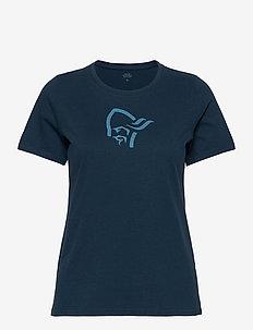 /29 cotton viking T-Shirt W's - t-shirts - indigo night