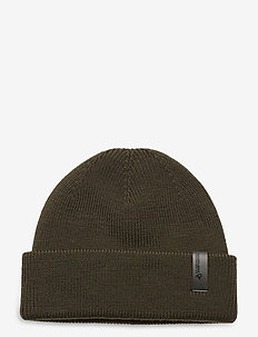 /29 fisherman Beanie - hats - olive night