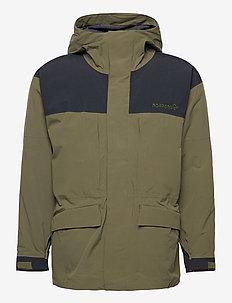 norrna Gore-Tex outdoor Coat Unisex - frilufts- og regnjakker - olive night