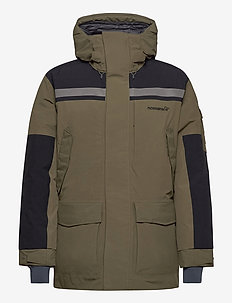 norrna Gore-Tex down750 Parka Unisex - outdoor & rain jackets - olive night
