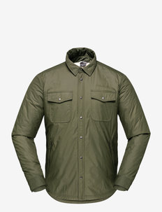 Norrna workwear pile Shirt M's - tops - olive night