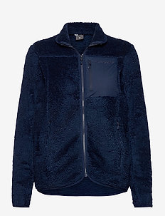 norrna warm3 Jacket W's - mid layer-takit - indigo night