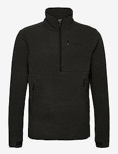 norrna warm2 halfzip Unisex - basic sweatshirts - caviar melange