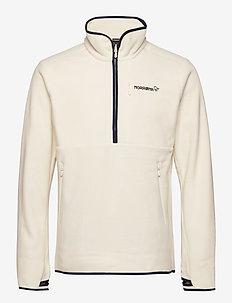 norrna warm2 halfzip Unisex - basic-sweatshirts - snowdrop