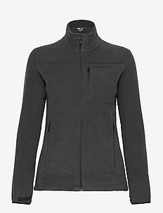 Norrna warm2 Jacket W's - fleece - caviar melange