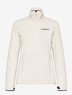 Norrna warm2 Jacket W's - fleece - snowdrop