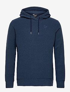 Norrna warm2 Hood M's - basic sweatshirts - indigo night