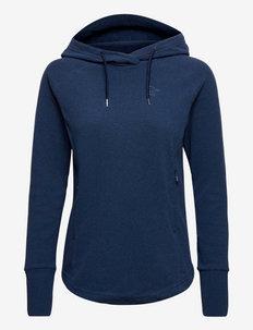 Norrna warm2 Hood W's - fleece - indigo night