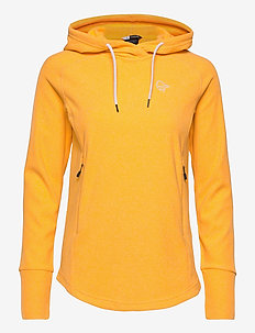 Norrna warm2 Hood W's - fleece - lemon chrome