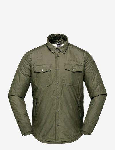 Norrna workwear pile Shirt M's - klær - olive night