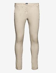 North Sails - CHINO SLIM - pantalons chino - beige - 0