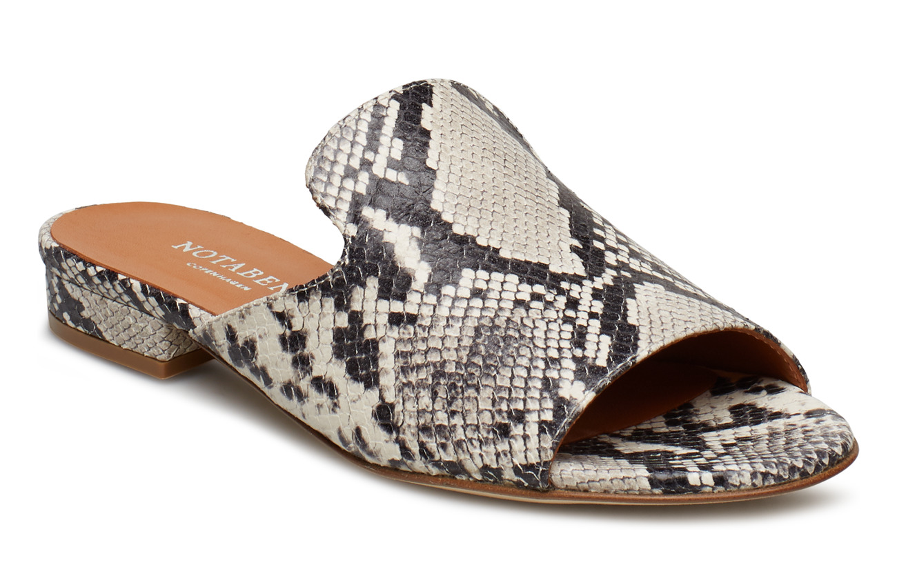 NOTABENE Agathe - WHITE SNAKE LEATHER