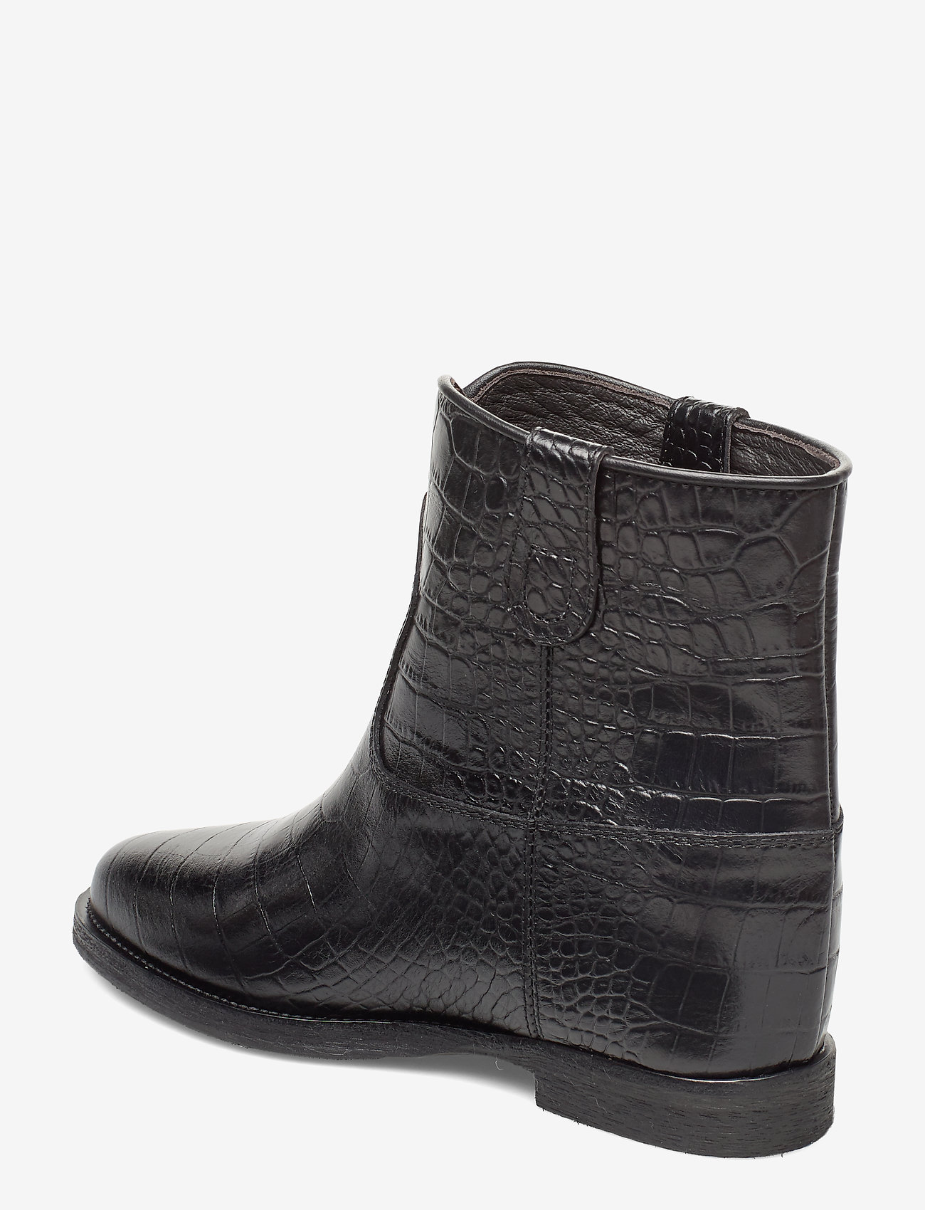 Isa (Black Croco Leather) - NOTABENE