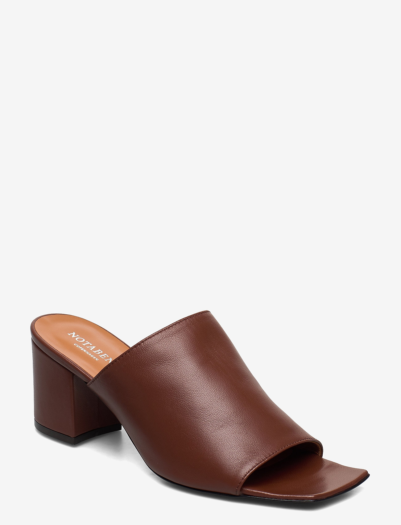 NOTABENE - Shia - mules & slipins - brown leather - 0