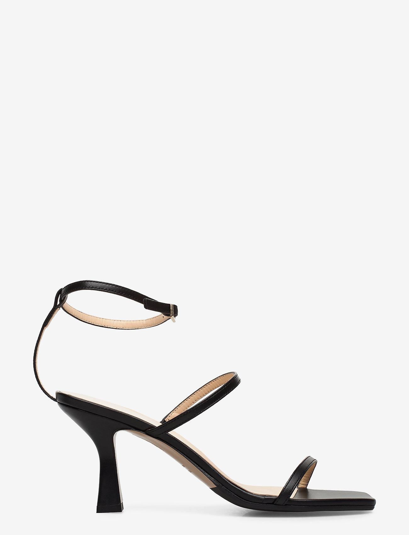 NOTABENE - Eden - høyhælte sandaler - black leather - 1