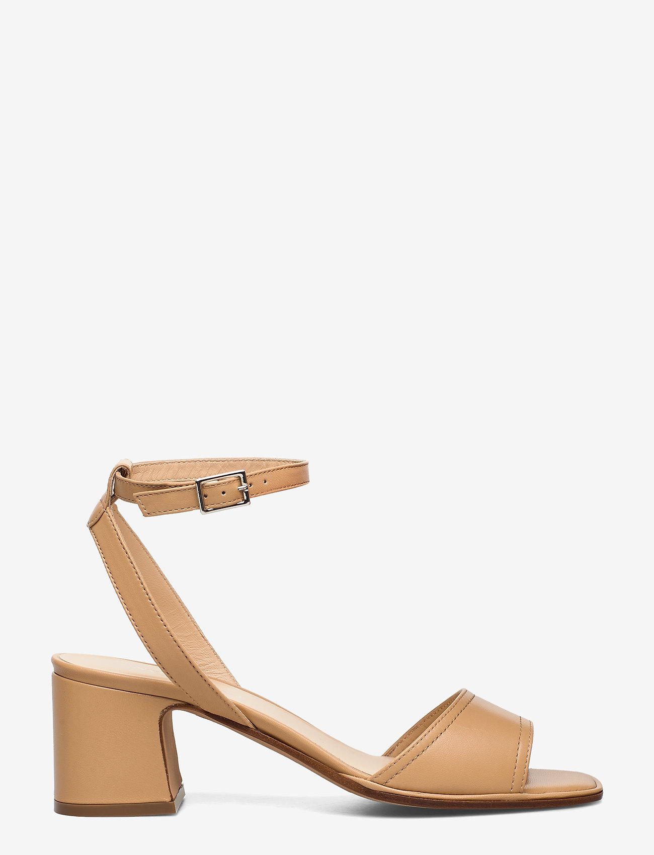 NOTABENE - Naima - høyhælte sandaler - nude leather - 1