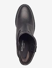 NOTABENE - Isa - ankelstøvletter med hæl - black leather - 3