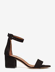NOTABENE - Lia - højhælede sandaler - black suede - 1