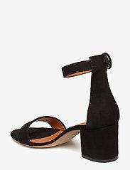 NOTABENE - Lia - højhælede sandaler - black suede - 2