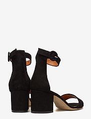 NOTABENE - Lia - højhælede sandaler - black suede - 4