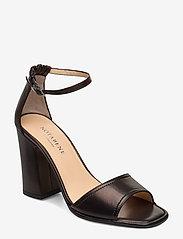 NOTABENE - Nadima - høyhælte sandaler - black leather - 0