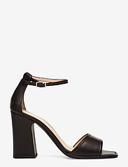 NOTABENE - Nadima - høyhælte sandaler - black leather - 1
