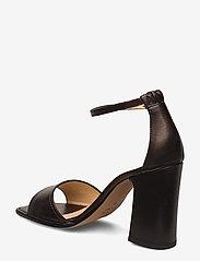 NOTABENE - Nadima - høyhælte sandaler - black leather - 2