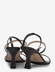 NOTABENE - Eden - høyhælte sandaler - black leather - 4