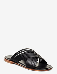 NOTABENE - Sahara - flate sandaler - black leather - 0