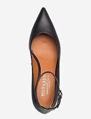 NOTABENE - Sonia - classic pumps - black leather - 3