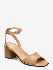 NOTABENE - Naima - høyhælte sandaler - nude leather - 0